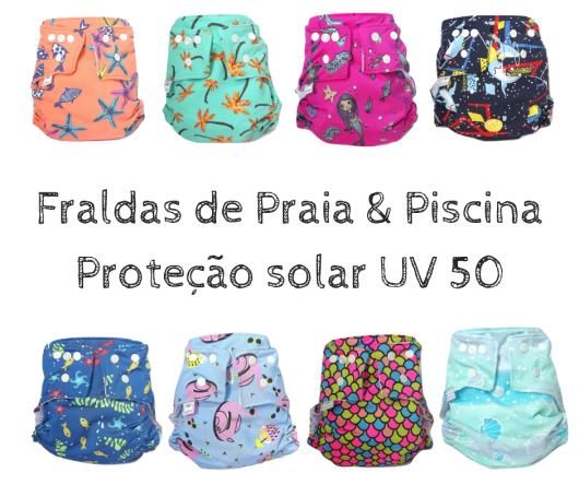 Fraldas de Praia & PiscinaProteção solar UV 50.png